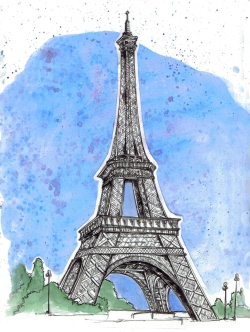 Eiffel Tower Paris, FR