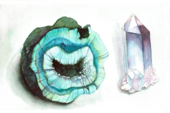 Geode and Crystal