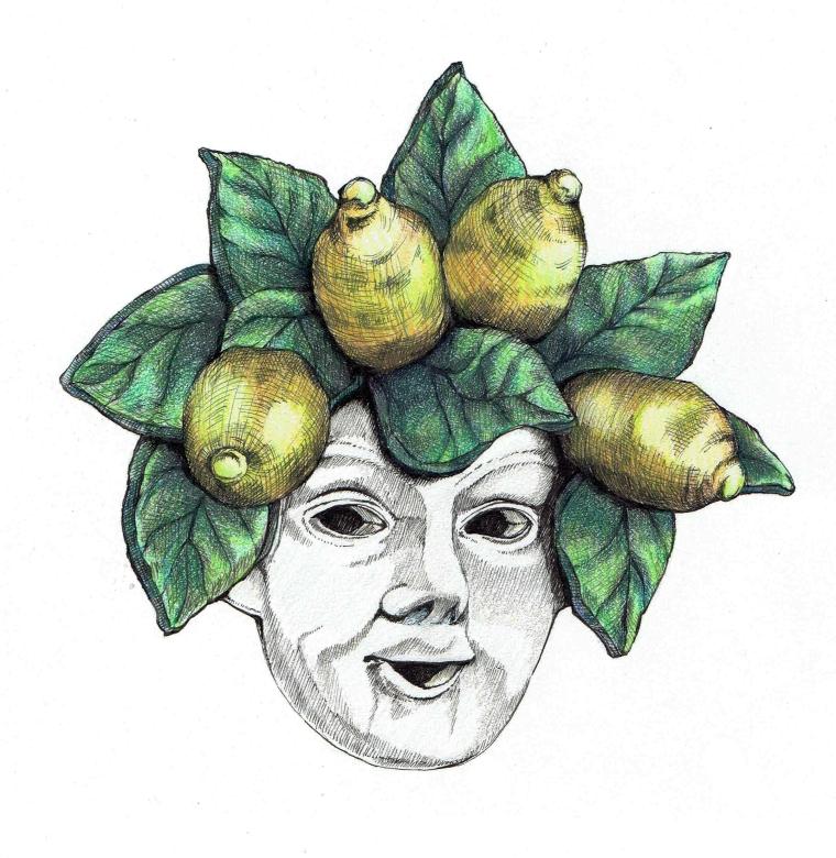 Ceramic mask Sorrento, IT